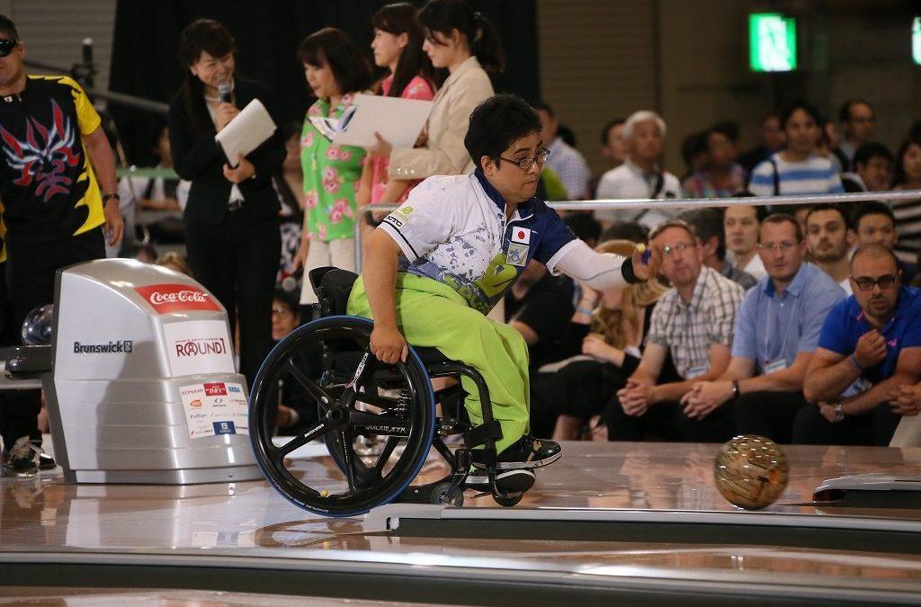 Bowling med rullstol, parabowling