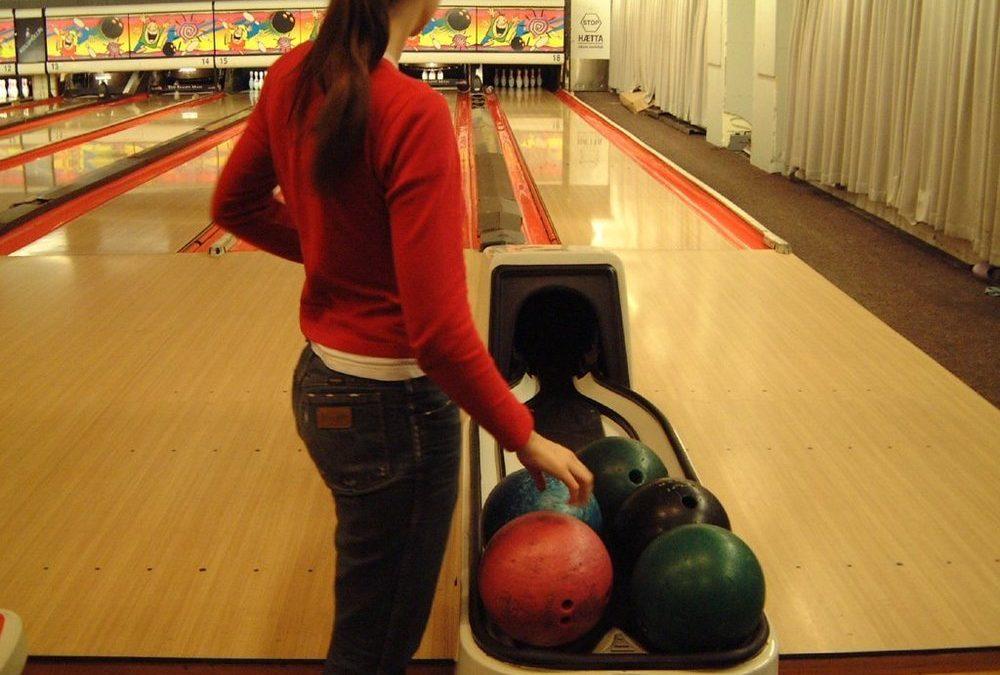 Servering i bowlinghallen