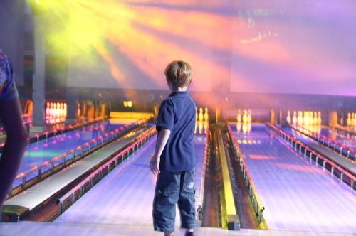 Barnkalas i bowlinghallen